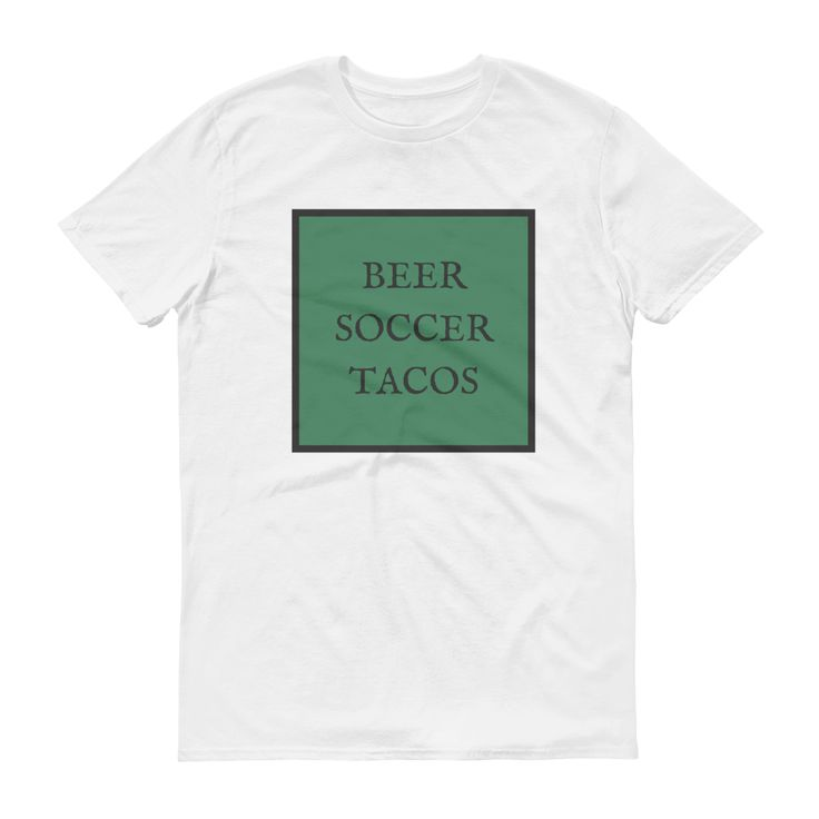 Beer soccer tacos