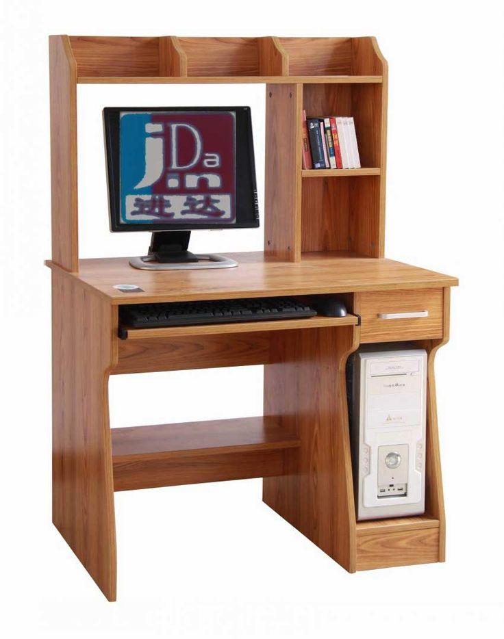Best 25 wood computer desk ideas on pinterest rustic for Muebles para computadora office depot