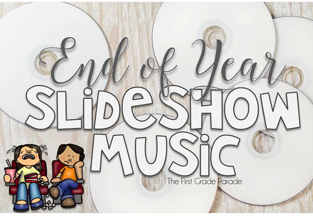 Do you make an end of year slideshow? Here is a list of perfect songs to accompany those precious memories from the year