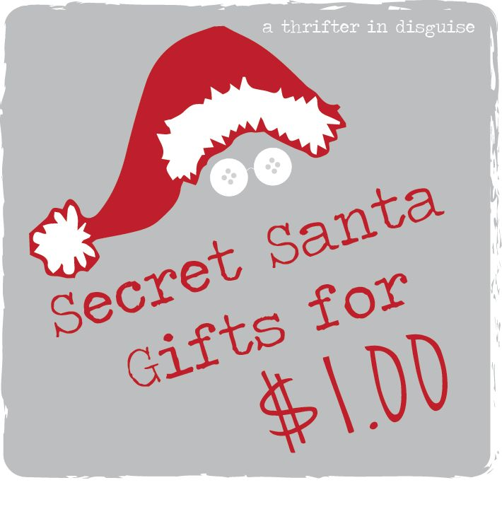 A Thrifter in Disguise: Secret Santa Saturday: Gifts for a Dollar | http://www.thrifterindisguise.com/2013/11/secret-santa-saturday-gifts-for-dollar.html?m=1