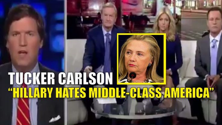 "Hillary Clinton's recent ""deplorable"" comments are yet more proof that Hillary has deep-seeded contempt and hatred for ""middle America."" This is the charge, according to Fox News host and political pundit Tucker Carlson, who has observed Hillary's contemptive hatred towards middle-class America for years. Watch the video: .@TuckerCarlson: The entire democratic party believes middle America is 'deplorable', not just Hillary Clinton pic.twitter.com/rtaiU7Mf81 — FOX & Friends (@foxandfriends)…"