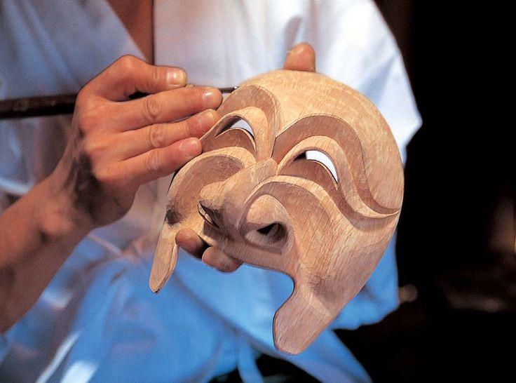 Korean Mask   ... Korean Traditional Masks - Tal   Korean Translation by Korean