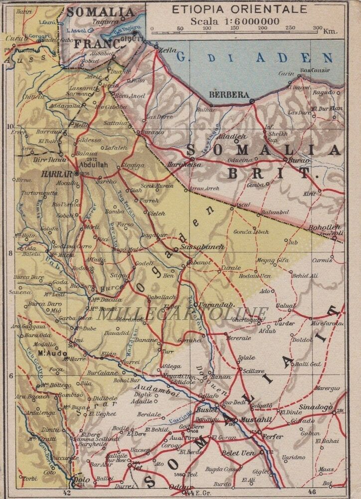 Cartina Dell Africa Orientale.Pin On Ethiopia Ww2