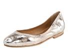 Frye silver metallic ballet flats.