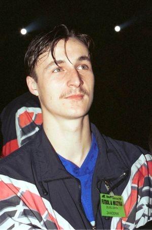 Rok 1995, Tomasz Hajto i jego wąsik.