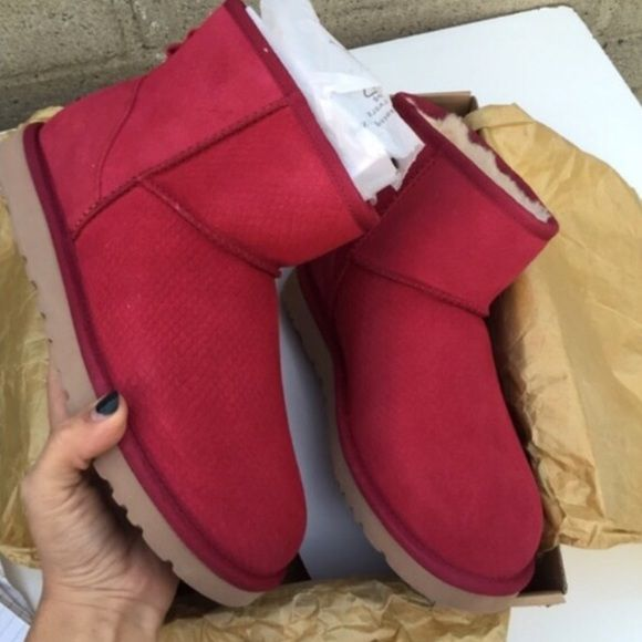 UGG authentic mini exotic scales boots Sz 11 new UGG authentic mini exotic scales boots Sz 11 new UGG Shoes