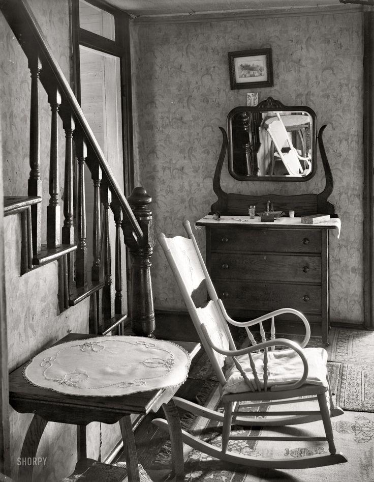 Walker Evans. Interior of unemployed man's house. Morgantown, West Virginia. 1935