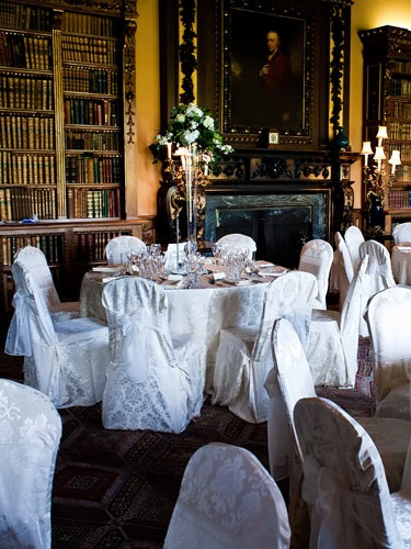 Downton Abbey/Highclere Castle Wedding Dinner