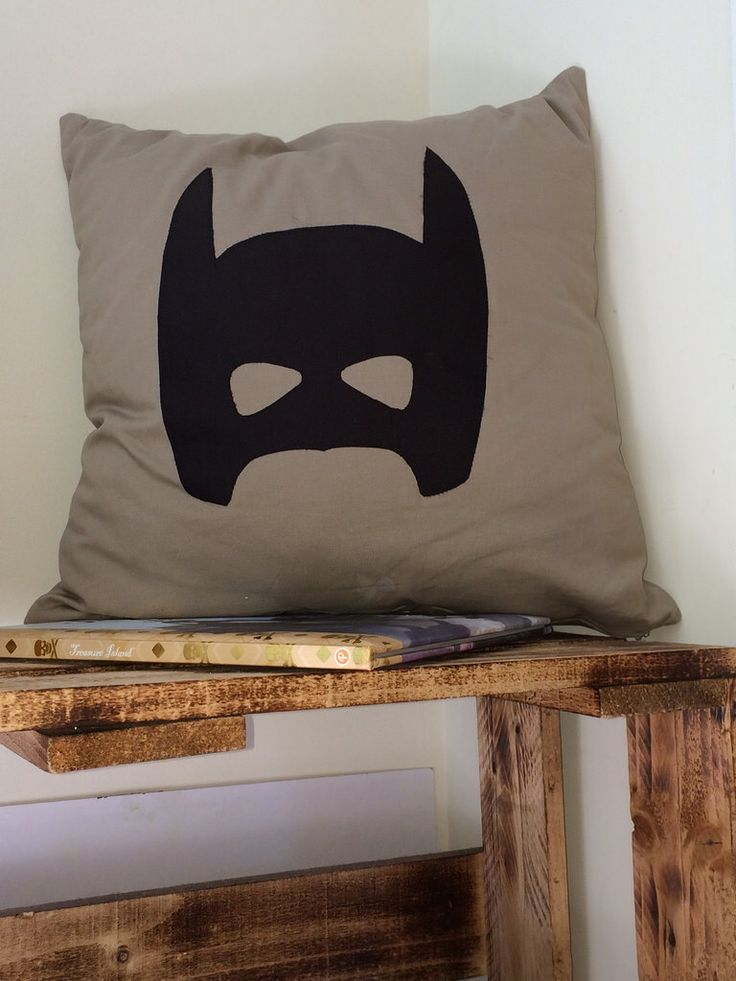 A Batman cushion. I've been so hard convinced to make it.