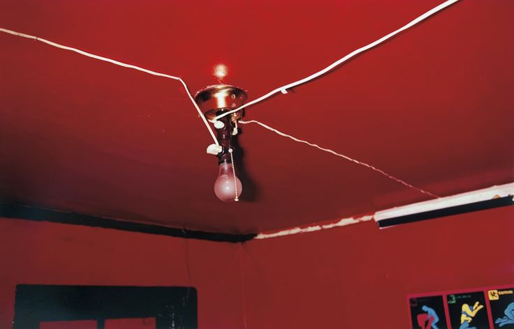William Eggleston - The Red Ceiling (1973)