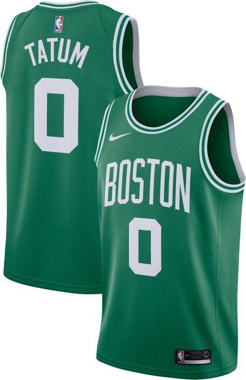 11c0dd19a5f Nike Men s Boston Celtics Jayson Tatum  0 Kelly Green Dri-FIT Swingman  Jersey
