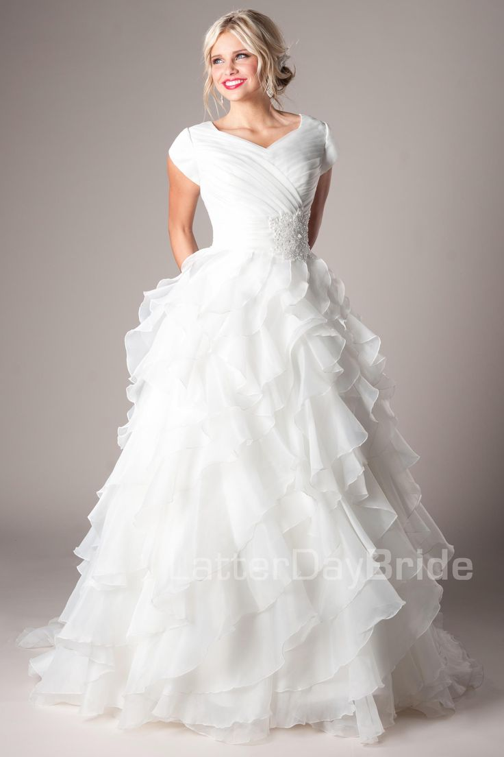 Casanova Modest Wedding Dress Latter Day Bride & Prom Gateway Bridal