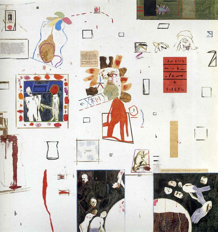 Artists for Peace - R. B. Kitaj - WikiArt.org