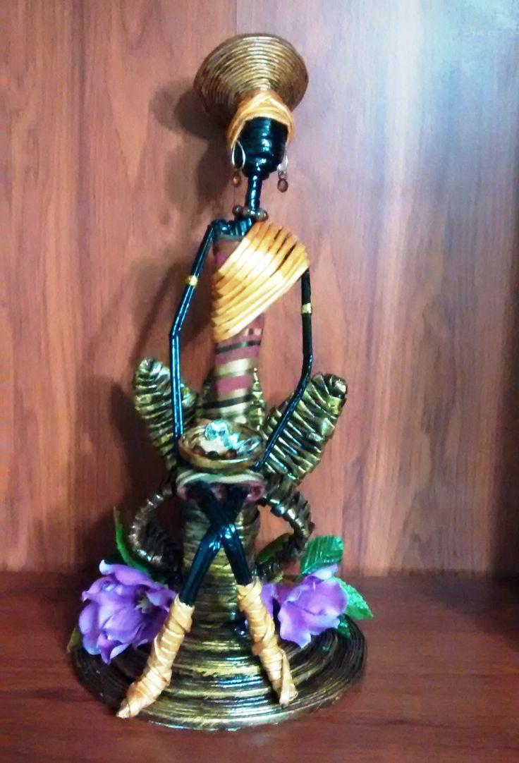 Preciosa muñeca Reina Africana  Solicítalas a través del correo electrónico : creacionesheimar@gmail.com  Siguenos en nuestras redes: Instagram: @creaheimar Twitter: @CreaHeimar Facebook: Heidy Marchena (Creaciones Heimar) Blog: http://creacionesheimar.blogspot.com/
