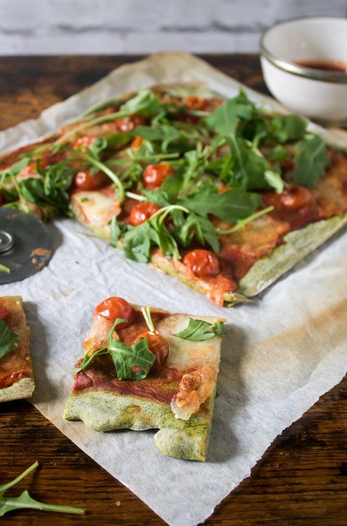 Easy Spinach Pizza Crust | Veggie Desserts