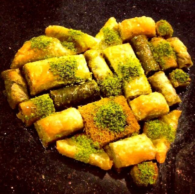 Turkish special dessert! We LOVE BAKLAVA!!!