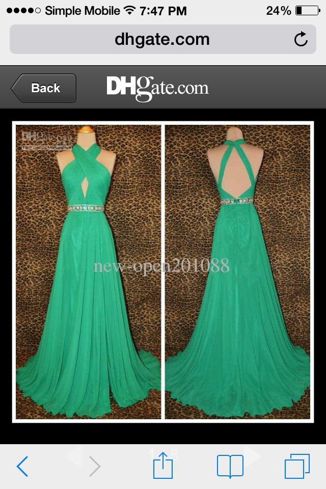 Braidsmaids dress. I'd definitely want it a Tiffany blue.