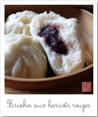La bouche pleine: Deux ans après : leçon de dou sha bao (豆沙包)(brioche pate haricot rouges)