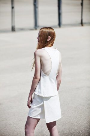 Minimal contemporary fashion line created in Greece. from the Spring Summer 2017 collection DISRUPTIONS