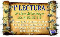 LECTURAS DEL DIA: Lecturas y Liturgia del 25 de Junio de 2014
