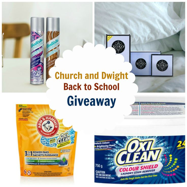 Church and Dwight Back to School Giveaway