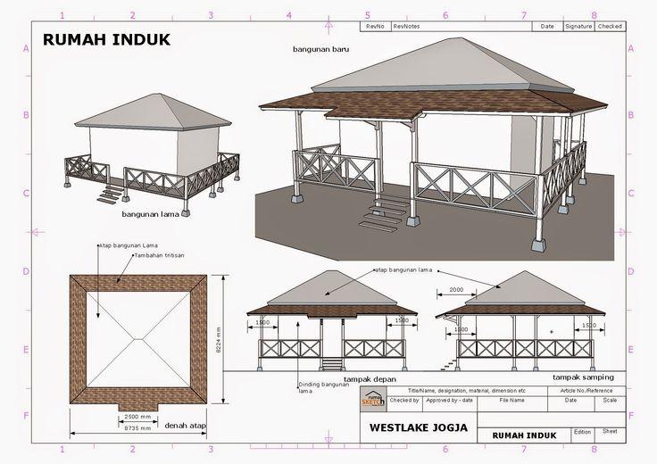 rumahSKETCH.com: Konsultasi : Penambahan Trititisan dan Tempat Wudhu di Westlake Jogja