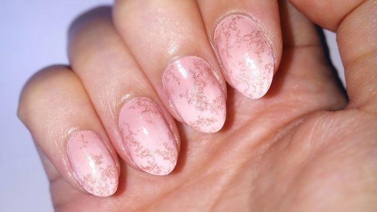 DIY Marble Stone Nails