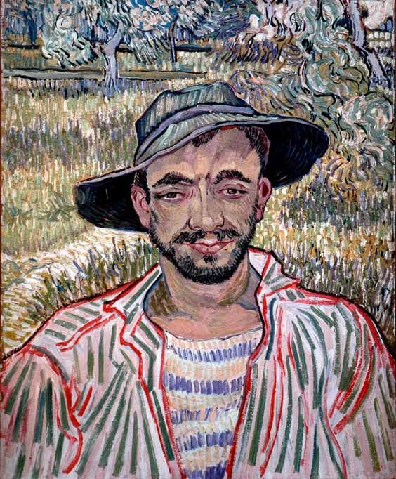 Vincent Van Gogh - Post Impressionism - Saint REMY - Le jardinier
