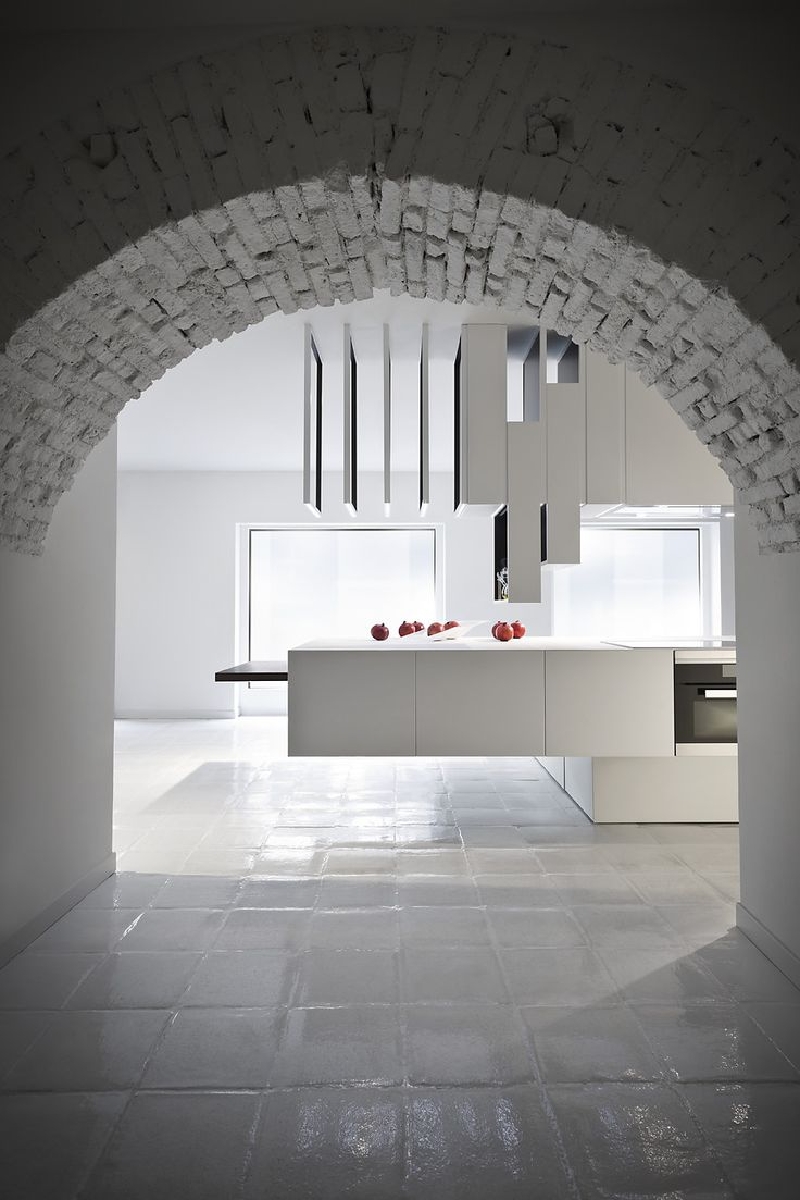 The Cut Kitchen designed by Alessandro Isola for Record è Cucine