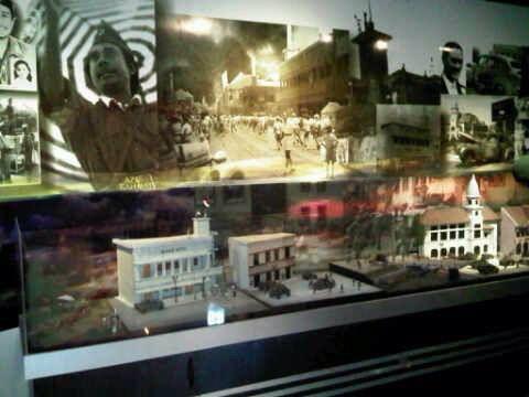 1/35 scale diorama battle of Surabaya 1945, ANRI museum Jakarta Indonesia by ademodelart