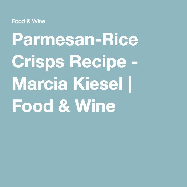 Parmesan-Rice Crisps
