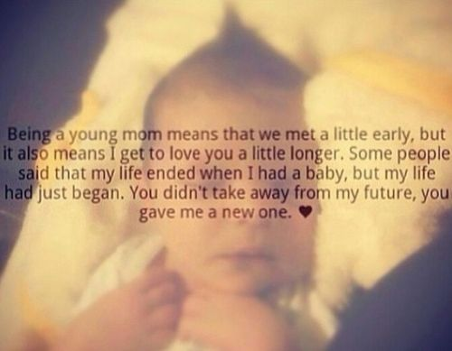 Best 25+ Young Mom Quotes Ideas On Pinterest