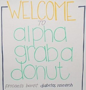 Alpha Gamma Delta at Iowa State University. So wish my chapter woulda called our philanthropy this!!