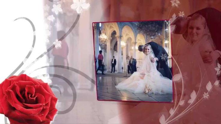 """Видео подарок """"Свадьба в нежных тонах"""" (Видео шаблон)"""
