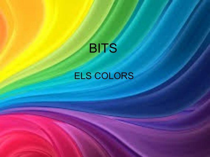Bits de intel·ligència: Els colors by MarianaNavarroHe via slideshare