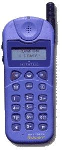 M'n eerste mobieltje, een grijze.