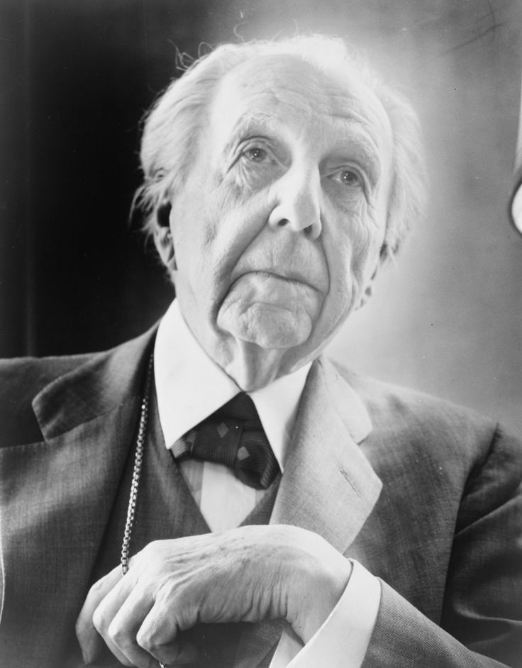 """This slideshow requires JavaScript. As the pioneer in developing an architectural style that strove for an """"organic architecture"""" in building design, Frank Lloyd Wright remains a profoundly influential American architect who developed a distinctly unique style. He designed numerous iconic buildings, including the building Fallingwater which has been called """"the best all-time work of American [...]"""