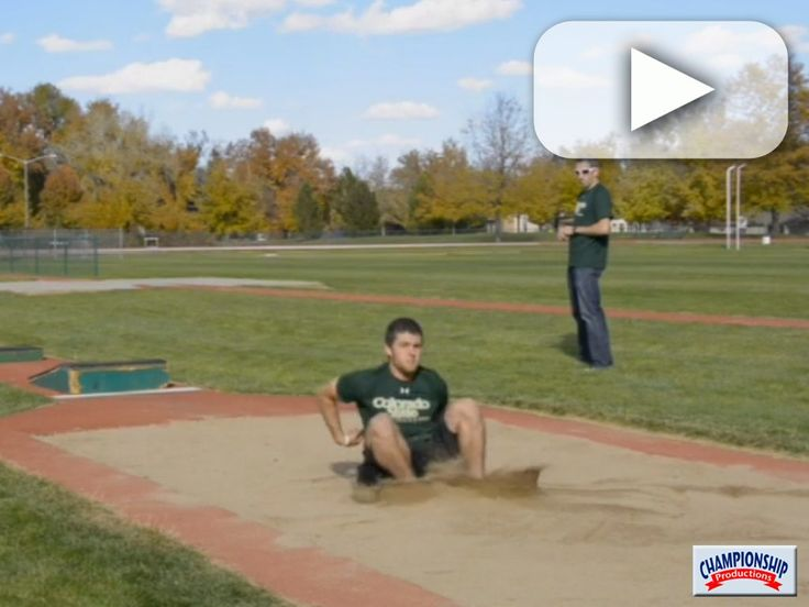 Watch as Coach Tim Cawley explains and jumpers demonstrate these Long Jump Incline Box Take Off Drills.