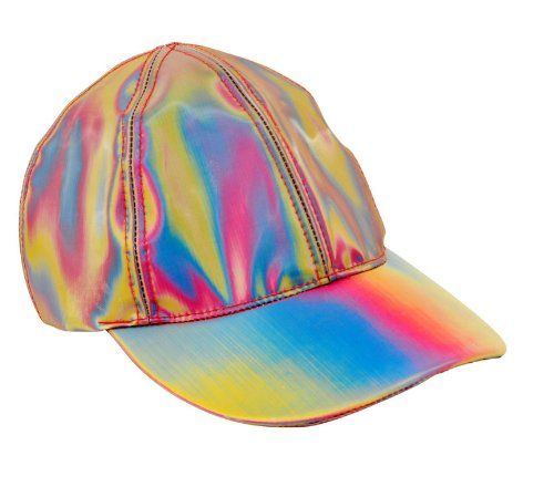 Back to the Future: Part II: Marty McFly Cap – Re-creates the futuristic baseball cap worn by Marty McFly during his visit to 2015 in back to the future part II. More than two decades after the first movie's release, the Back to the Future trilogy remains a favorite among viewers of all ages. -Comes with velcro closure -One size fits all. – Color/Finish: -Cap features material that shimmers and changes color.