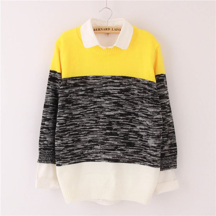 """Fashion students gradient sweater pullover CuteKawaiiHarajukuFashionClothing&AccessoriesWebsite.SponsorshipReview&AffiliateProgramopening!so fashionable and sweet, use this coupon code """"cute8"""" to get all 10% off shop now for lowest price"""