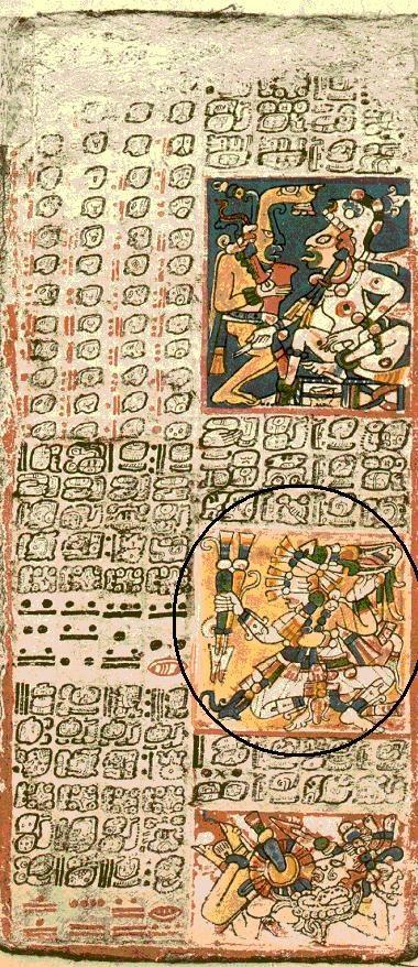 Codice de Dresden,apenas se ha descifrado un 50%,lo que se sabe hasta ahora es que esta el ciclo del planeta  Venus,entre otras cosas....