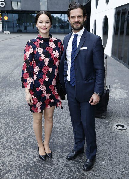 Princess Sofia and Prince Carl Philip of Sweden attended the opening of the First World Anti-Bullying Forum (WABF2017) held at the Quality Hotel Friends on May 08, 2017 in Solna.