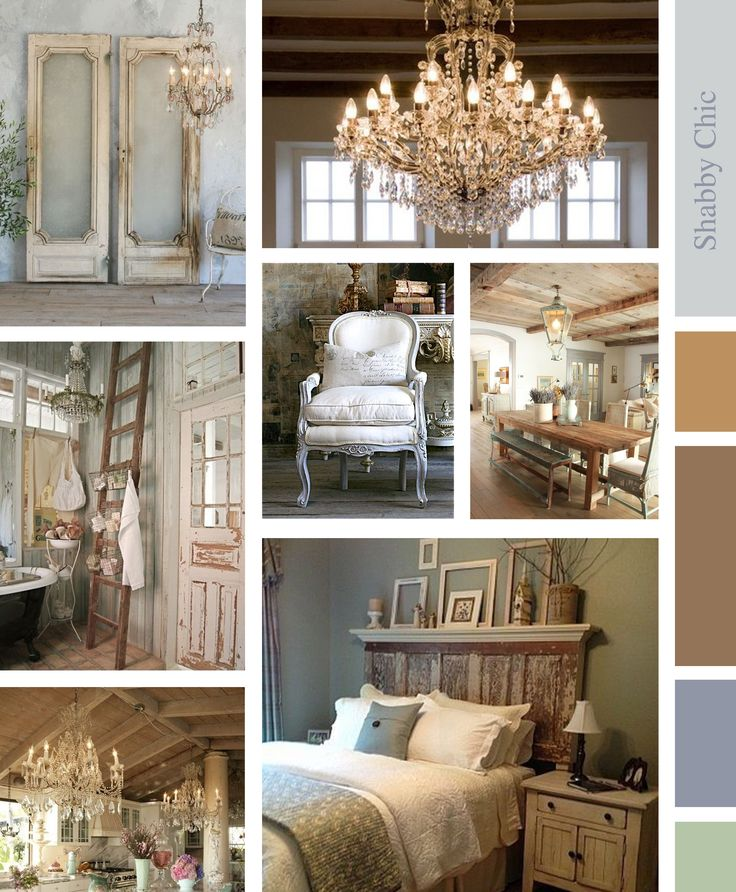 Moodboard Shabby Chic Style, by me!