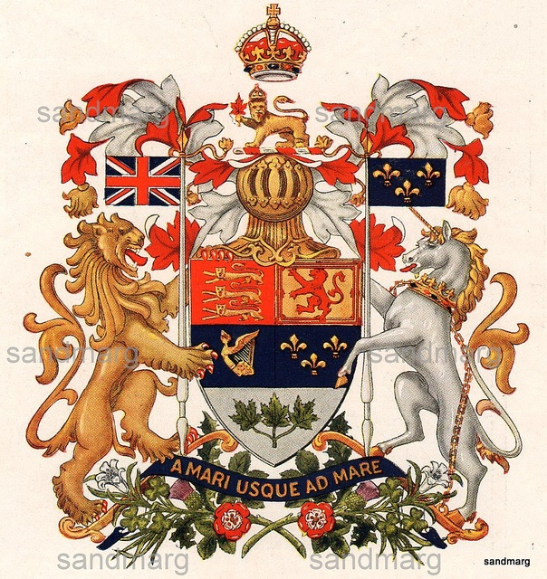 1926 The Canadian Coat of Arms