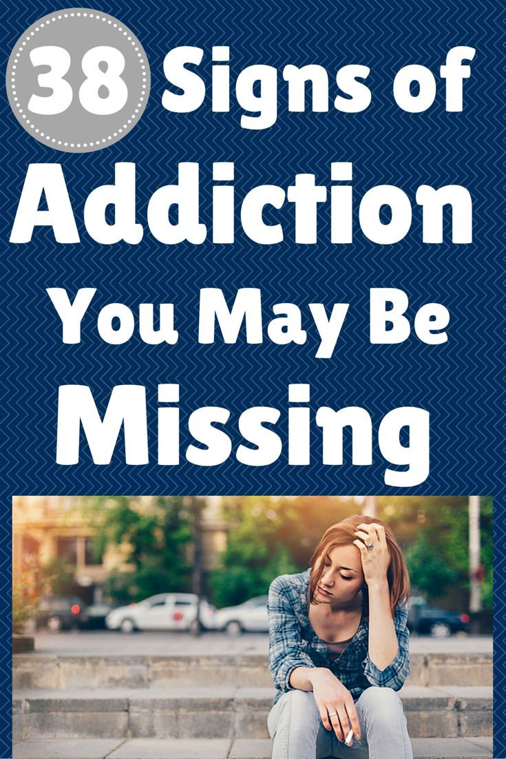 38 Signs of Addiction You May Be Missing - Check out this checklist of addiction signs and symptoms #addiction #signs #parents   everydayhealth.com