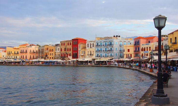 Photo of Chania, view on the old venetian harbour area