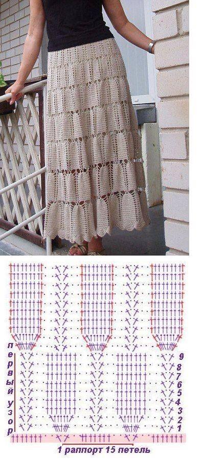 55 best TEJIDO images on Pinterest | Crochet clothes, Crochet ...