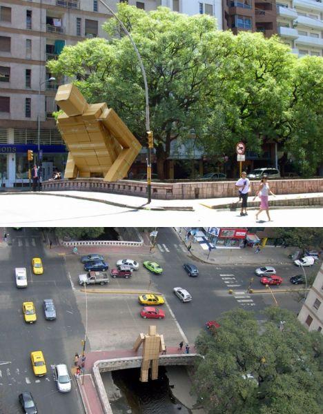 Intervenções artísticas pelas cidades | Criatives | Blog Design, Inspirações, Tutoriais, Web Design