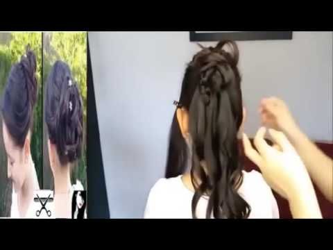 Simple Hairstyle For Party Step By Step