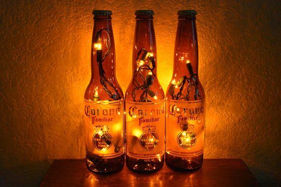 Beer bottle lights 74 pinterest corona familiar beer bottle light 3 pack white lights bar mozeypictures Image collections
